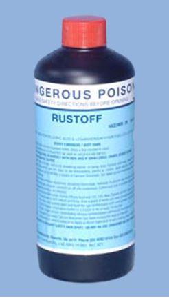 Rustoff rust remover